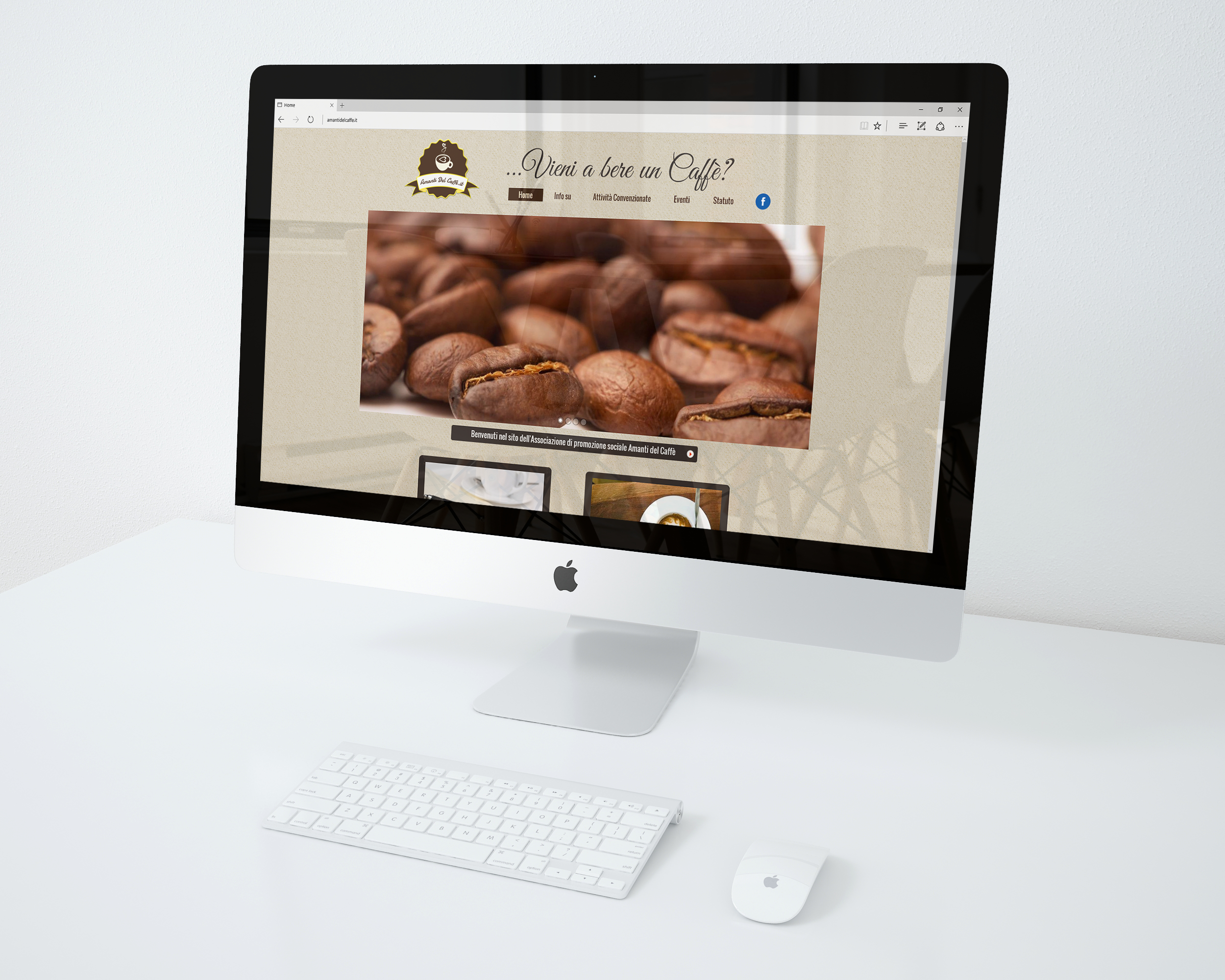 sito web amanti del caffe
