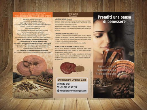 Nadia Brizi Distributore Organo Gold